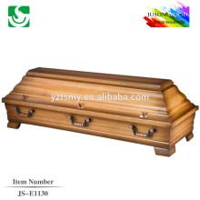 hot sale solid walnut coffin box