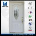 Fangda Eco Galvanized Steel Glass Door