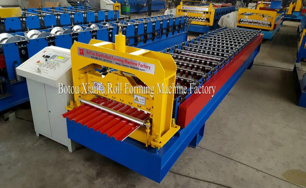 Rolling Shutter Door Slat Roll Forming Machine