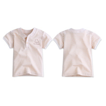 100% Cottonnature Color Camiseta Para Bebê