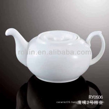 Hotel used tea pot, ceramic tea pot, restaurant used tea pot