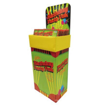 Cardboard Retail Party Celebration Products Dumpbins Display