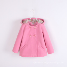 Mädchen Mäntel Winter Kinder Baby kleine Mäntel für Winter rosa europäischen Winter Mäntel modische gute Qualität Großhandel Kinder Jacken