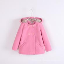 Meninas casacos de inverno crianças bebê casacos para inverno rosa inverno europeu casacos moda de boa qualidade atacado crianças jaquetas
