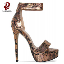 12cm high heel new deisgn platform sandals