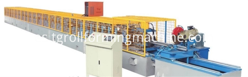 Peach-Type Post Fence Forming Machine