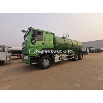 Howo 6x4 ravitaillement en carburant camion-citerne