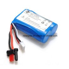 Batería de litio de 7.4V 700mAh para Feilun FT007 Barco teledirigido