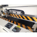 CO2 Metal None-metal Máquina de corte a laser SS 1.5mm Nenhum metal Acrílico 30mm Madeira 23mm 150W 1300 * 2500mm