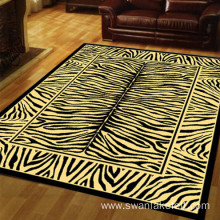 Tiger Trips Floor Carpet 100% Polyester Shaggy Rugs