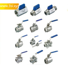 Stainless Steel Male Female Thread End Ball Valve
