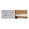T8 LED Tube Light Plastic Lamp Holder 18W 1200mm