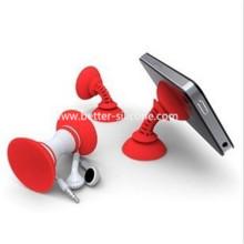 Silicona de vacío de promoción chupan disco titular del teléfono