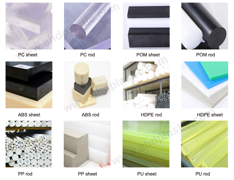 ABS rod and other plastic products