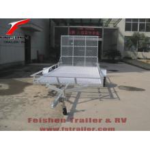 Heißer Verkauf neuer Stil ATV Anhänger mit Heckrampe mit verschiedenen Größen