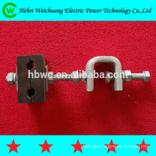 electric power fitting - rubber down lead clamp for tower