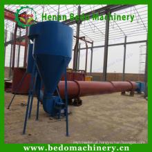 China melhor fornecedor industrial ampla usado tambor rotart madeira máquina secador de pó / secador de pó de madeira 008613343868847