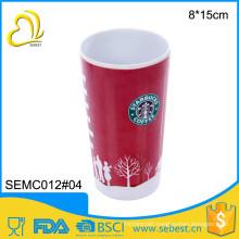 high quality printing plastic melamine cup