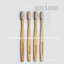 4-PC Set Eco-Friendly Bamboo Toothbrush (WBB0804C-N)