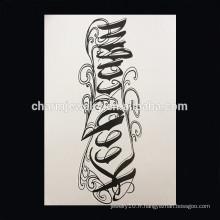 OEM Vente en gros de fleurs en forme de tatouage tatouage tatouage tatouage à bras étanche W-1006