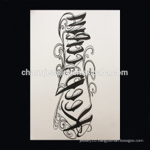 OEM Wholesale flower shape animal cross arm tattoo Waterproof arm tattoo W-1006