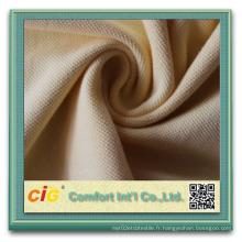 Haute qualité pour l'habillement Tissu 100% coton en piqué