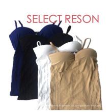 Nahtlose verstellbare Träger Sexy Kleid für Frauen
