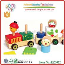 Juguetes educativos de madera para vehículos