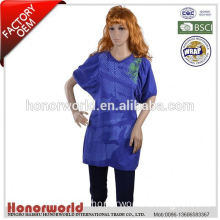 20 years BSCI approved factory good quality office uniform designs for women pants and blouse 2015