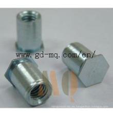 CNC que da vuelta a las piezas del tornillo de autoretención (MQ1050)