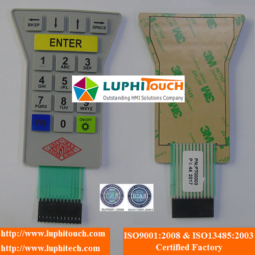 Rubber Keypad Waterproof Membrane Switch 2