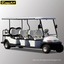 Günstige 8-Sitzer Golfwagen zum Verkauf elektrischer Sightseeing-Bus elektrischer Mini-Bus