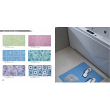 Estera de baño antideslizante antideslizante de PVC
