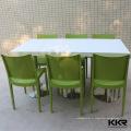 différentes tailles tables à manger pour surface solide 8/6/4/2 personnes