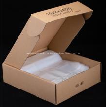 Sacos de embalagem de alimentos claros de HDPE