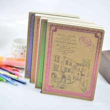 Cuaderno de regalo diario de cuaderno espiral de cubierta dura