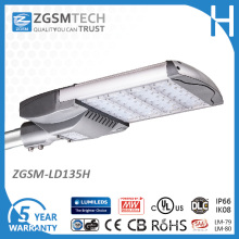 Zgsm 135W Aluminum Street Light Philips with Bronze Housing for Parking Lot Lighting