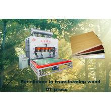 Máquina de prensa de ciclo corto laminado / prensa de laminación de pegamento de madera