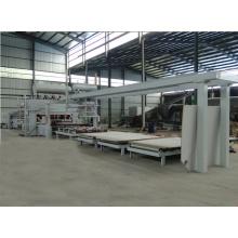 Panel de partículas / MDF Ciclo corto de melamina de prensa caliente de doble cara de la máquina