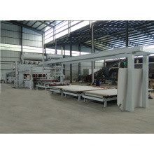 Trabalho em Madeira Melamina MDF Hot Press Machinery Double Sides MDF Short Cycle Press Line