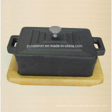 Pre Seaseond Cast Iron Mini Sauce Pot Size 12.5X9X4.5cm