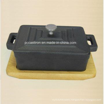 Pre Seaseond Cast Iron Mini Sauce Pot Size 12.5X9X4.5cm