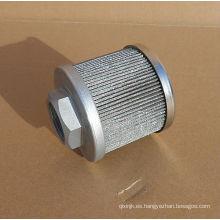 El reemplazo para el elemento de filtro de succión LHA SEH10-1-100,100MESH 140 MICRON, Elemento de filtro de aceite lubricante para turbinas pequeñas