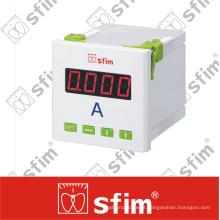 Amperímetro digital Sfim com interruptor selecionado
