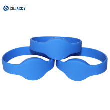 Shenzhen factory outlet smart silicone wristband concert waterproof RFID wristband tickets