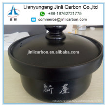 Non Stick Graphite Stock Pot/Graphite Soup Pot with Lid for Noodle Nabe Sukiyaki