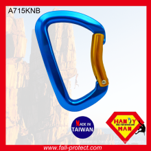 2017 The Most Safety Bent Gate Rock Climbing Carabiner Made Of Aluminum