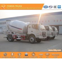 FOTON 5m3 small transit mixer truck shock price