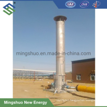 Waste Gas Burning Flare Torch for Sewage Treatment Plant