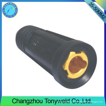 Tig argon schweißpistole 35-50mm2 Kabelverbindungsstück